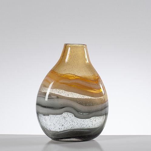 Andrea Glass Swirl - Bulb Vase