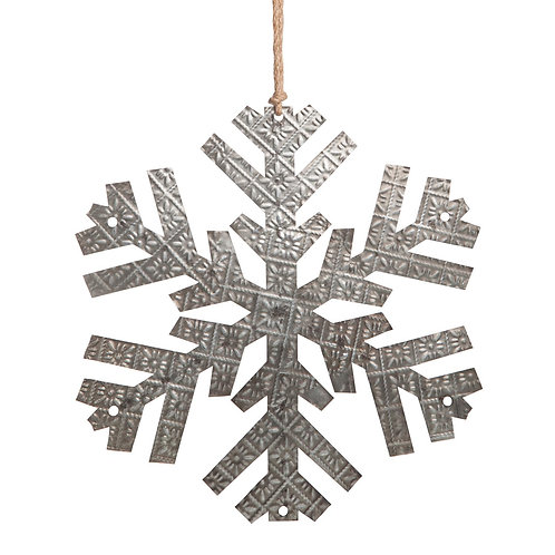 Embossed Snowflake Medium