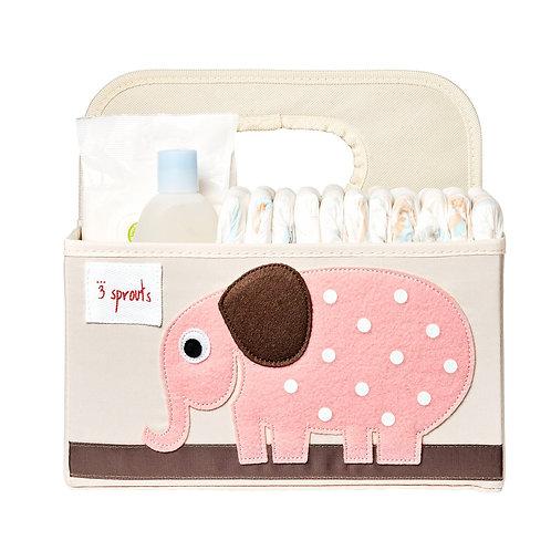 Elephant Diaper Caddy