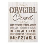 Small Sign Cowgirl Creed