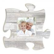 Puzzle Piece Weathered Grey Faux Wood