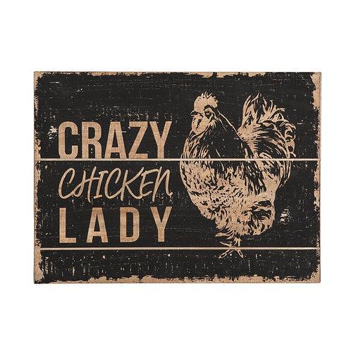 Chicken Lady Wall Art