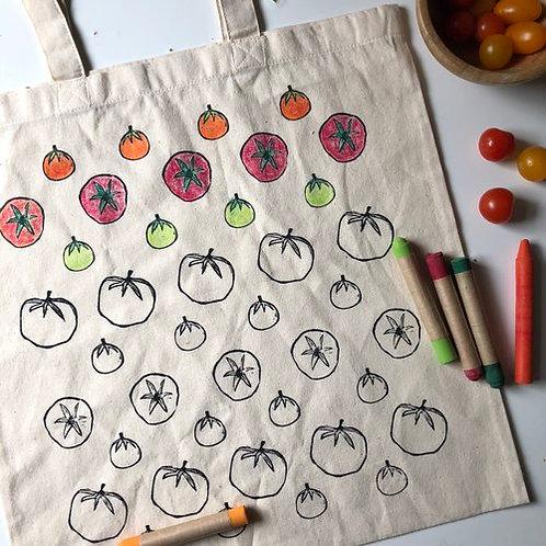 CYO Market Tote Kit: Tomato