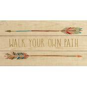 Pallet Decor Walk YOur Own Path