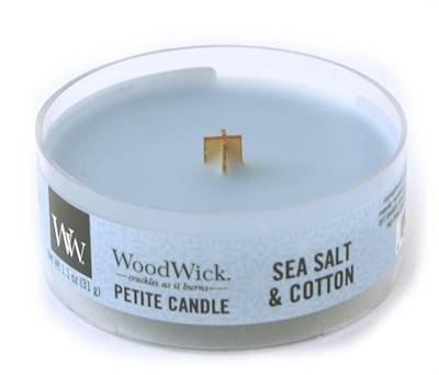 WoodWick Candle Sea Salt & Cotton