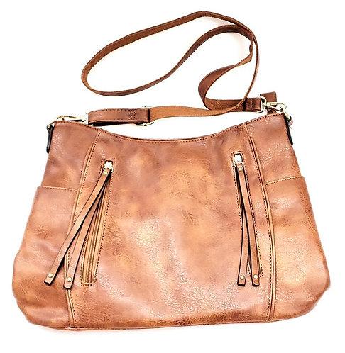 Cross Shoulder Slouch Bag