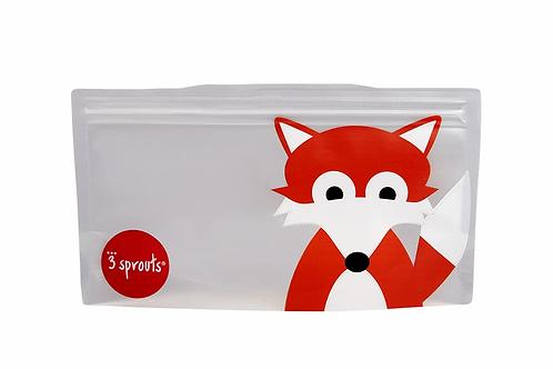 Fox Snack Bag (2 pack)