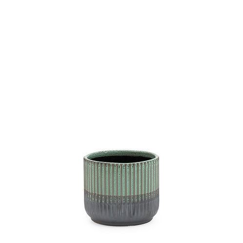 Palma Layered Glaze Ceramic Drop Pot