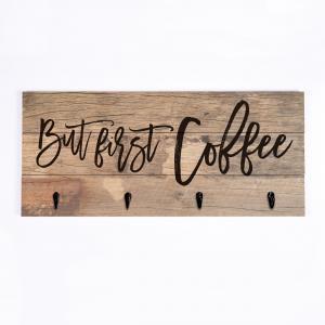 But First Coffee Pallet Art