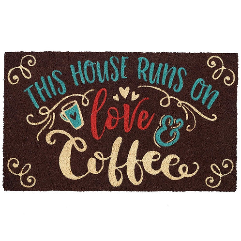Love & Coffee Doormat