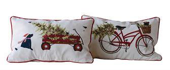 """20""""L x 12""""W Cotton Pillow"""