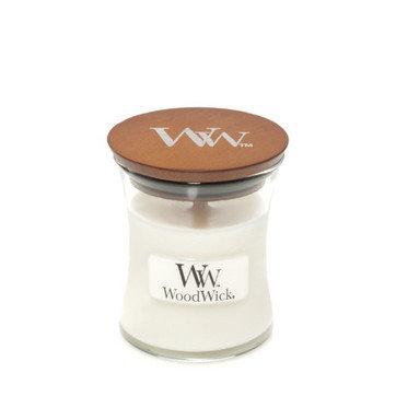 WoodWick White Teak Candle