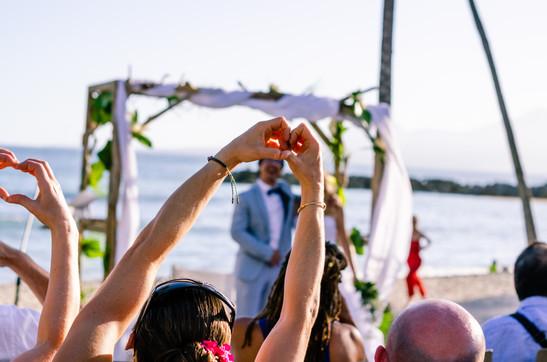 Josch Photo Guadeloupe : Mariage à la plage A et J