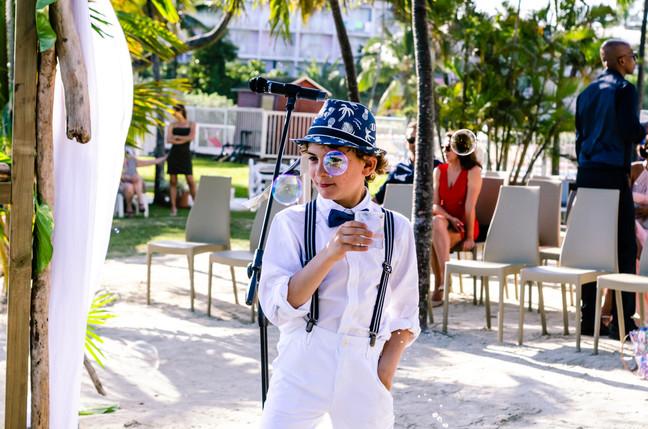 Josch Photo Guadeloupe : Enfant au mariage