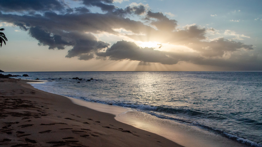 Josch Photo Guadeloupe : Paysage Guadeloupe - Couché de Soleil