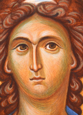 Icon of the Archangel Michael (detail)