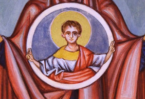 Icon of the Virgin 'orans' (detail)