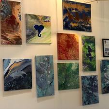 First Paintings at Infinite Serenity