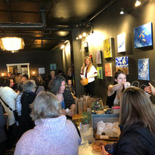 Om Healing Lounge Grand Opening