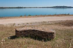 Pierre Sèche au Lac de la Raho