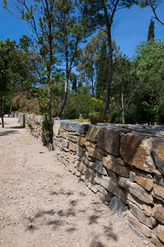 Mur en Pierre Sèche Site de Paulilles