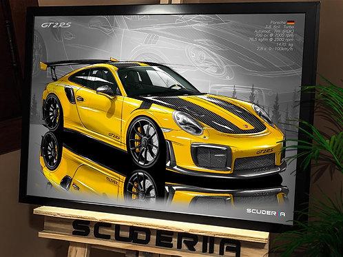 PORSCHE GT2 RS - PERSPECTIVE