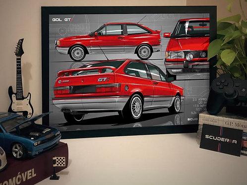 VW GOL GTI - COMPOSITION I