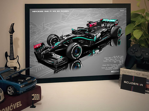 MERCEDES AMG F1  2020 - LEWIS HAMILTON