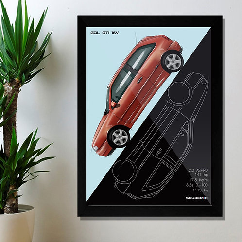 VW GOL GTI 16V '96