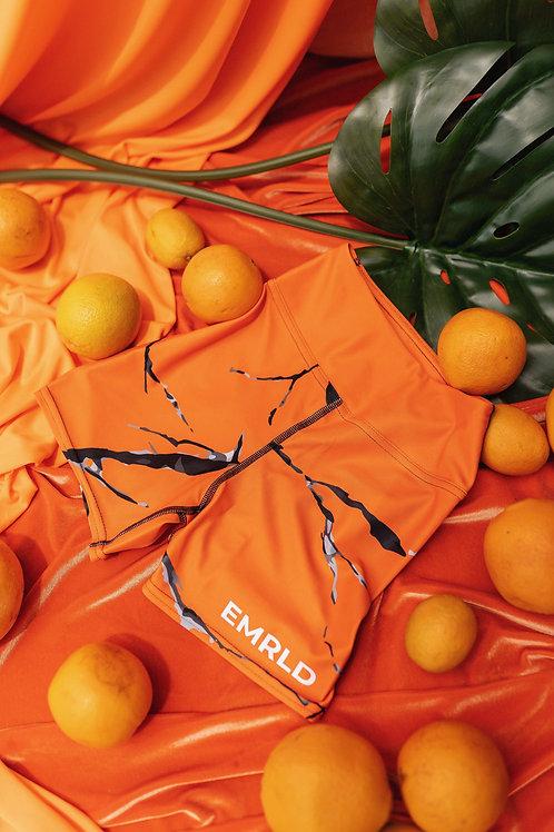 Orange Citrine  Shorts