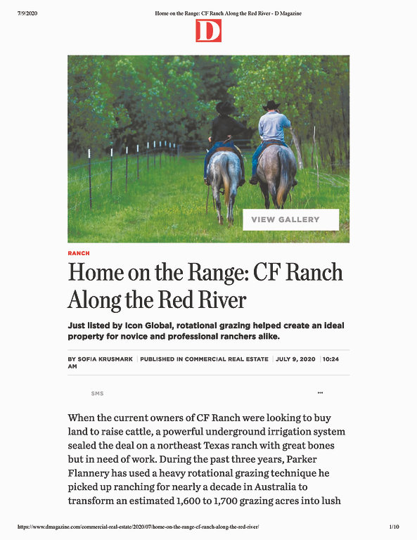Home on the Range_ CF Ranch Along the Re