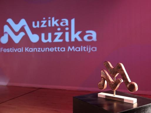 Festivals Malta jippreżenta l-premjijiet lill-kanzunetti rebbieħa ta' Mużika Mużika 2021