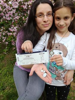 Brigitta és kislánya