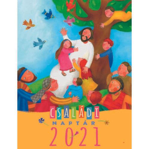 Családi naptár - 2021 ( Harmat Kiadó, spirálozott )
