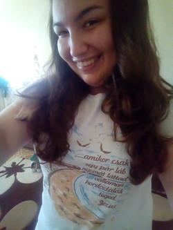 Keresztény póló Bettin :)