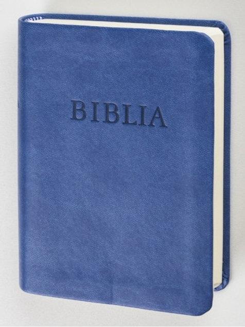 Biblia (RÚF 2014), zsebméret, kék