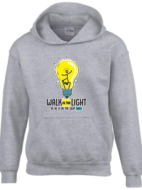 Walk in the light - Igés,keresztény pulóver (YOUTH)