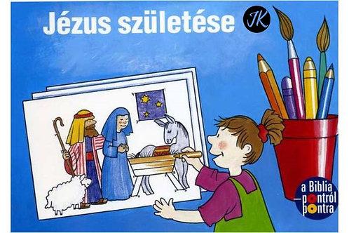 Jézus születése - színezőfüzet, gyerekeknek