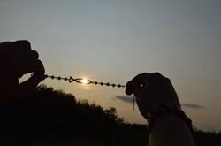 Anita naplementés - halas karkötője