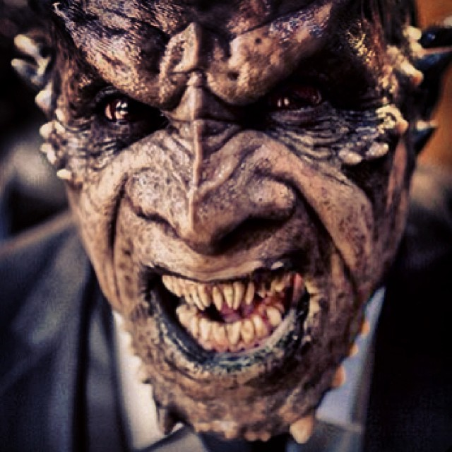 I'Frankenstein._Arch Demon Dekar._Prosthetic make up MEG FX _Prosthetic teeth... Me