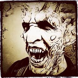 I'Frankenstein Demon Comic Style
