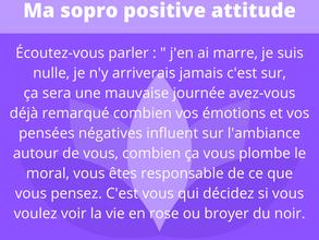 Ma sophro positive attitude