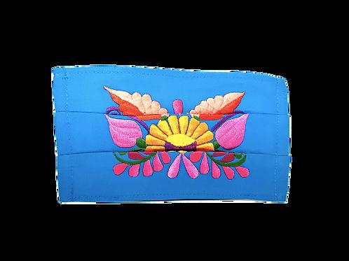 Handmade Artisan Face Mask - Blue