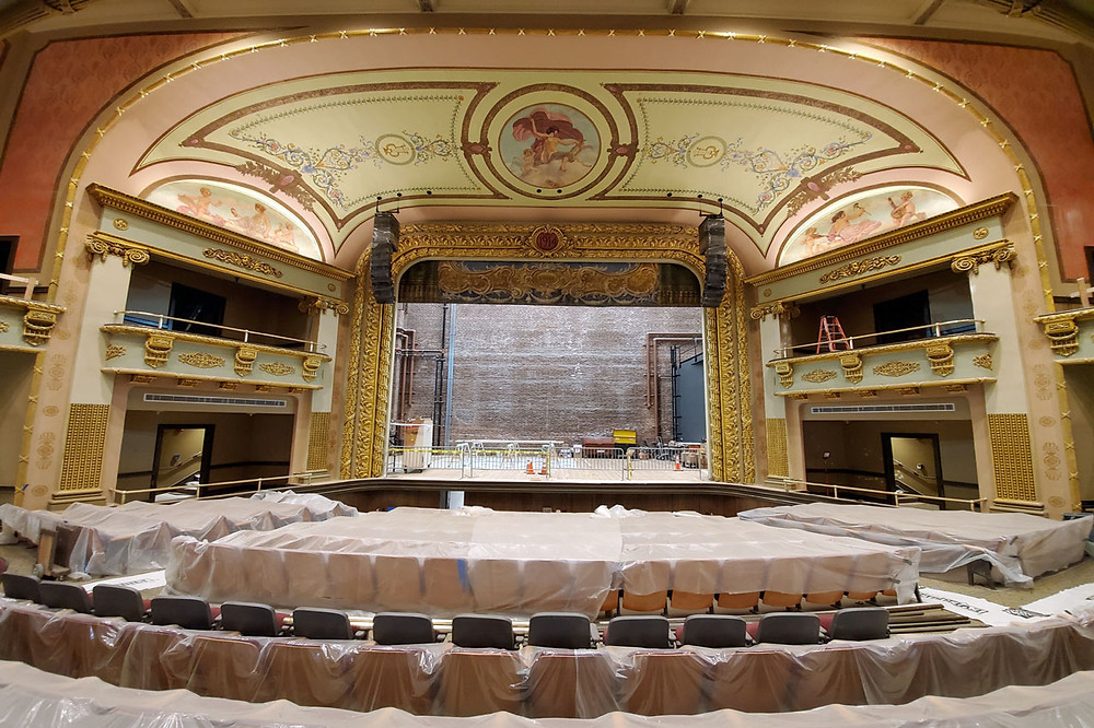 MFi Pro - Nexo Speaker Arrays at The Colonial Theater - Laconia NH