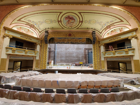 """MFi Pro - Laconia's Historic Colonial Theatre gets new life and a """"sound"""" investment."""