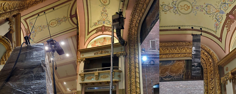 MFi Pro installs Custom NEXO Line Arrays at the Colonial Theater