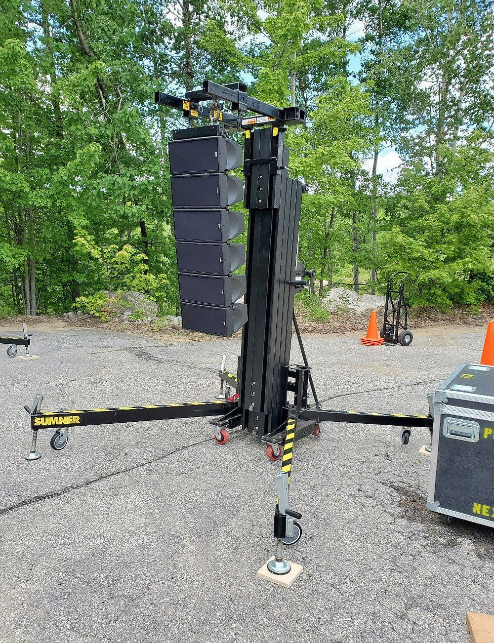 MFi Pro - Nexo GEO M6 Speaker Array