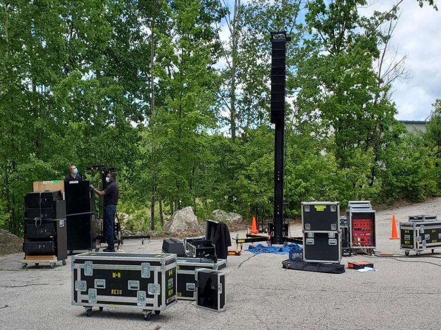 MFi Pro with Nexo GEO M6 and GEO S12 Speakers
