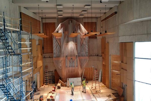 MFi Pro - UVM Recital Hall during construction