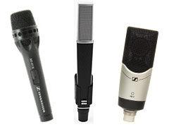 MFi Pro - Sennheiser Studio Vocal Microphones